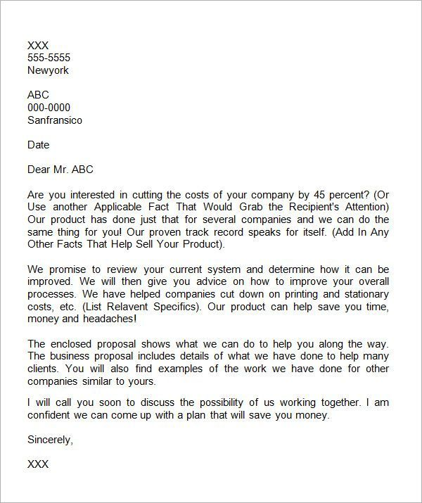 business proposal letter writing   nationalgriefawarenessday - business letter examples