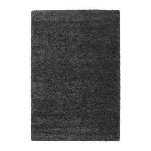 IKEA - ÅDUM, Teppich Langflor, 133x195 cm, , Der dicke, dichte Flor ist kuschelig an den Füßen und wirkt gleichzeitig geräuschdämpfend.Aus Synthetikfasern und daher robust, fleckabweisend und leicht zu reinigen.