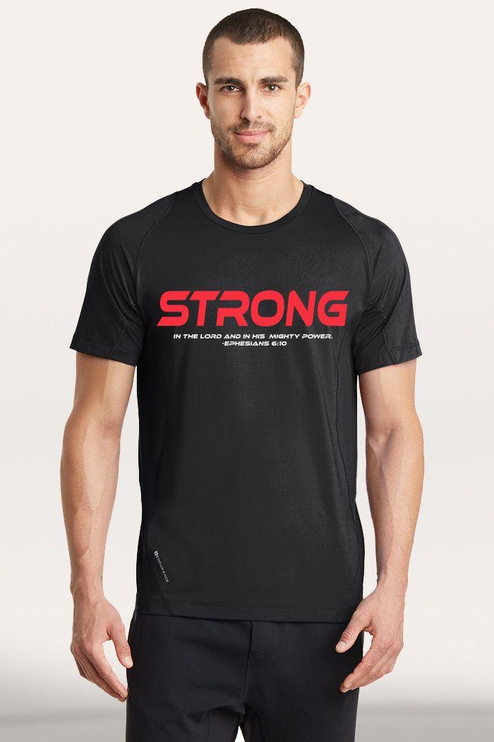 Strong Men's Active T-Shirt