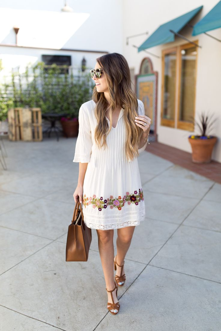 Best Summer Street Style: Top 25+ Best Summer Casual Dresses Ideas On Pinterest