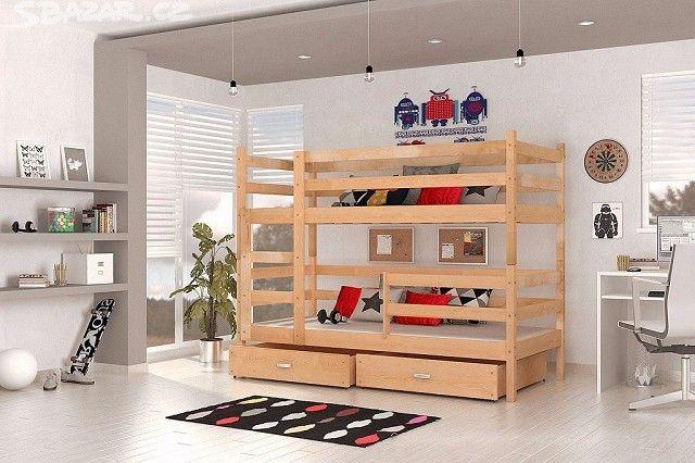 Patrová postel BOROVICE PALANDA JARMIL - obrázek číslo 1