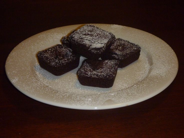 Gluten Free Mini Chocolate Brownies