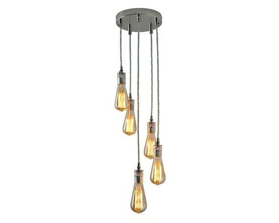 5 Cluster Pendant Light Hanging Lights Spiral Pendant Etsy Cluster Pendant Lighting Hanging Lights Cluster Lights