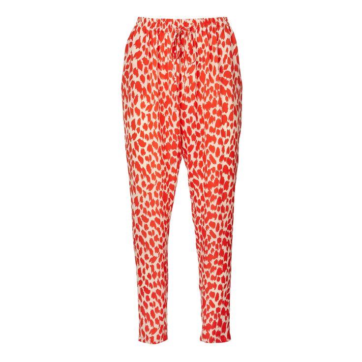 Penny pants - p/d leopard print
