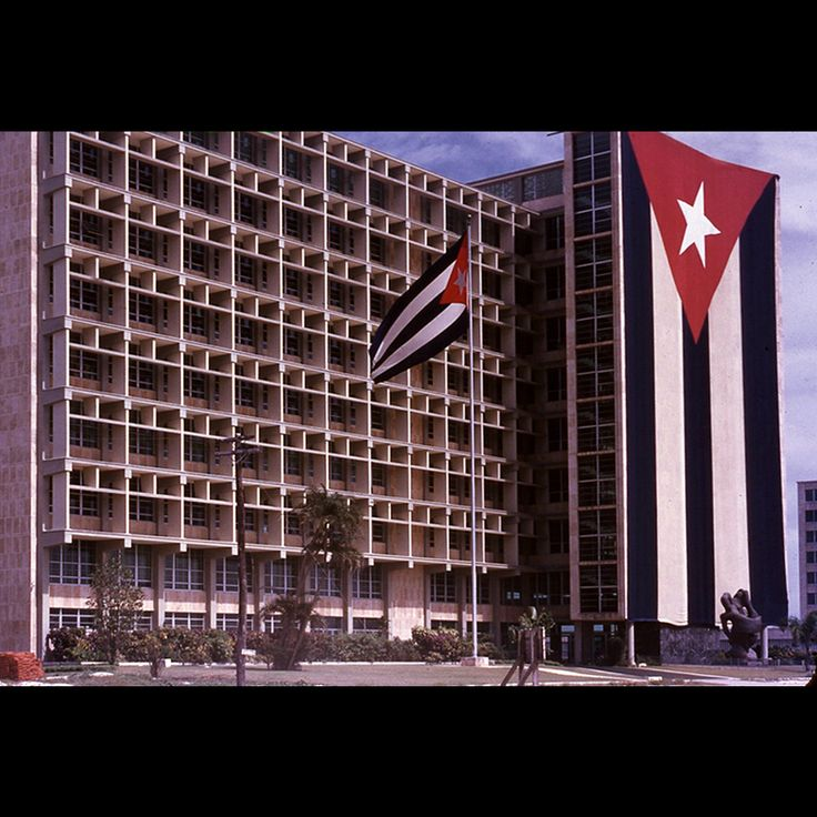 Edificio Tribunal de Cuentas en construccion | Plaza Civica La Habana de un turista 1955 Fleitas Cuba Collection http://fleitascubacollection.blogspot.com/2013/10/blog-post_16.html#links
