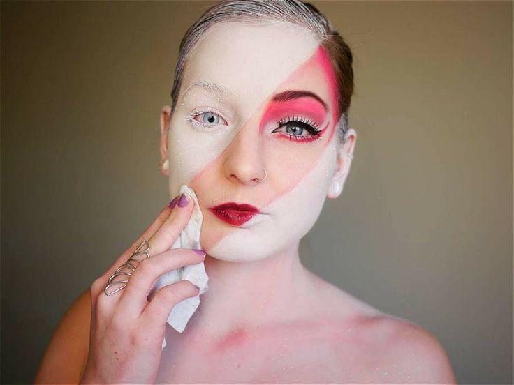El increíble maquillaje de Elsa Rhae
