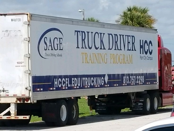 Sage Truck at Hillsborough Community College School in