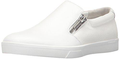 Calvin Klein Men's Ibiza Np Smth Clf/Ebms Sft Lthr Fashion Sneaker, White, 10.5 M US