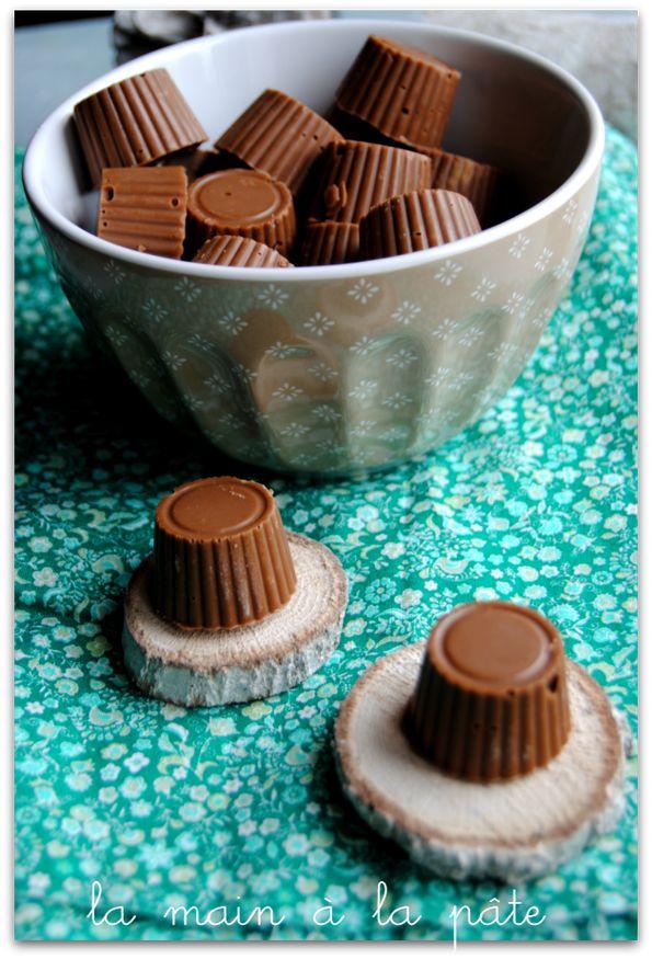pralinés feuilletés aux trois chocolats et noisettes
