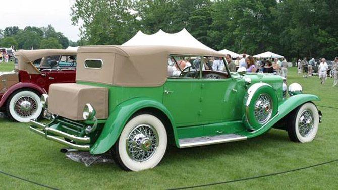 1929 Murphy Duesenberg J Convertible Sedan