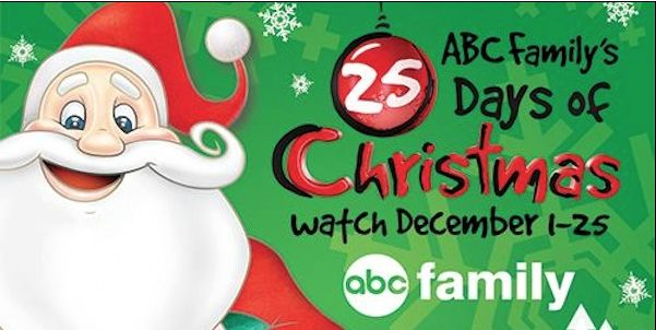 ABC Family's 25 Days of Christmas 2013 Schedule - http://www.livingrichwithcoupons.com/2013/11/abc-familys-25-days-of-christmas-2013-schedule-2.html