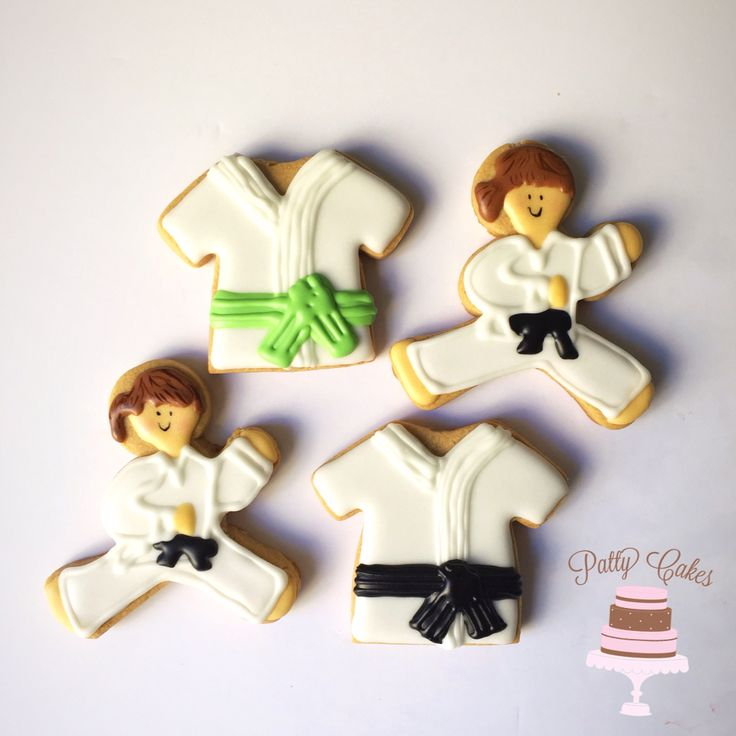 Cake Decorated Chocolate Martial Arts