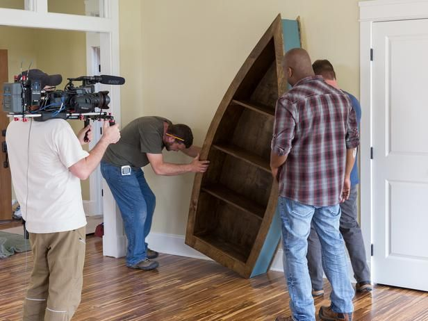 Build Boat Bookshelf - WoodWorking Projects & Plans