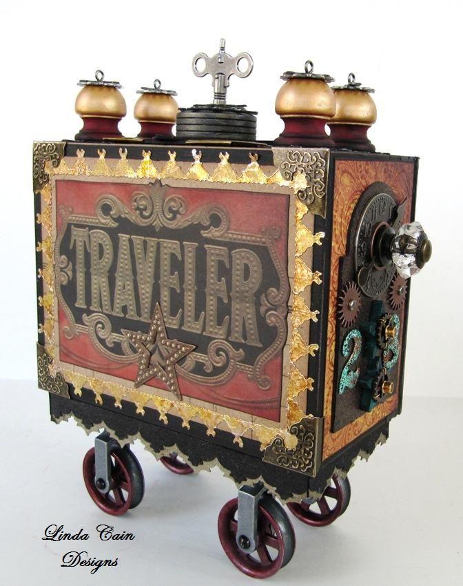 Gypsy Traveler Wagon by Linda Cain