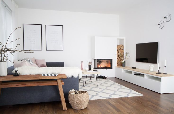 Interior design living room fireplace  – Sori writes · Wohnzimmer | Living Room