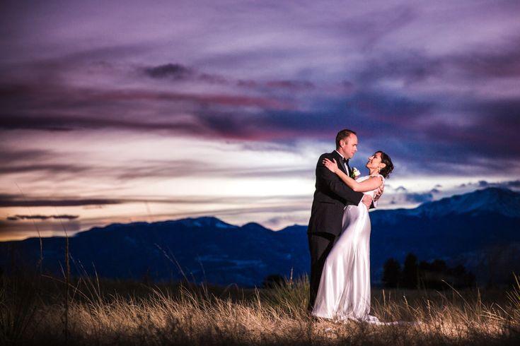 Wedding Sunset by JMGant Photography.