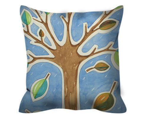 Set of cushions 4 seasons-zippered di LiuLab su Etsy