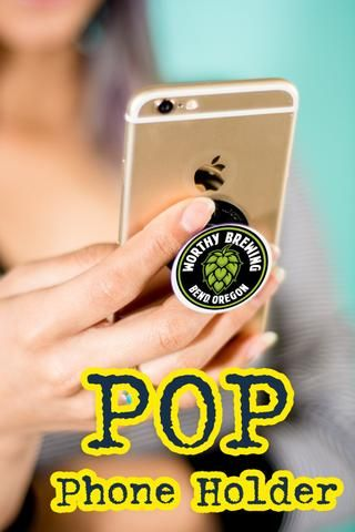 Teens go wild over Pop phone holders! Capture your teen audience with custom pop sockets swag!
