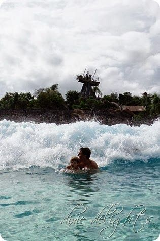There is so much fun to be had at the Disney Water parks.  Typhoon Lagoon is especially nice if you have younger kids .... the slides are not so extreme as they are at Blizzard Beach ... but there are several that are thrilling enough for older kids too!  Here's one family's experience ... and some great photos!