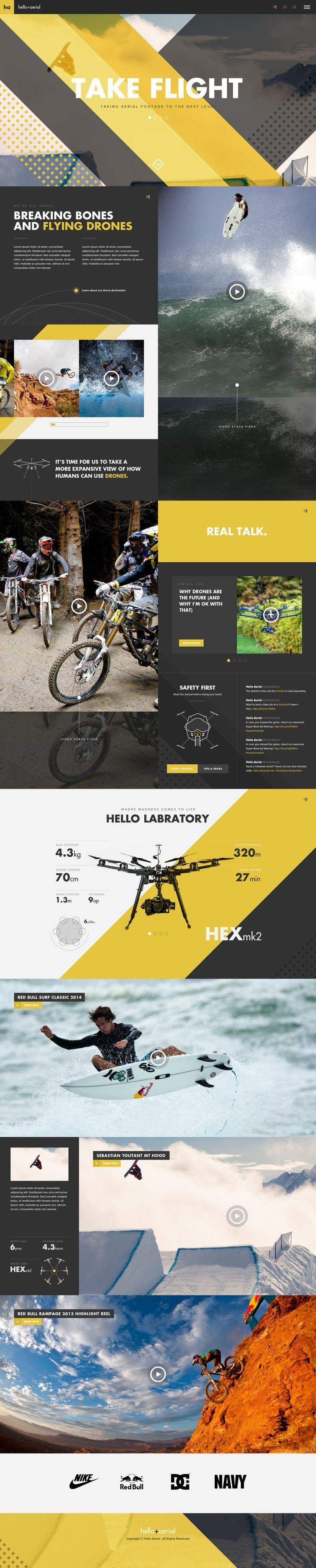 Hello Aerial Web Design
