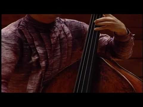 Astor Piazzolla, Kicho for Doublebass and piano - YouTube