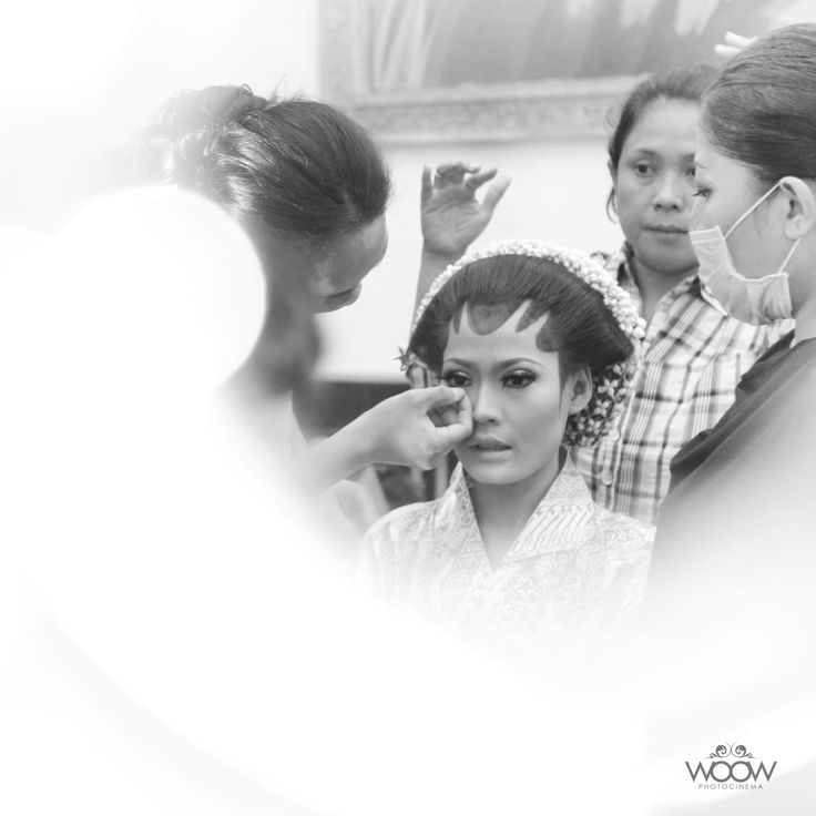 The Bride, Make Up, Wedding Day, Traditional, Javanese, Indonesian