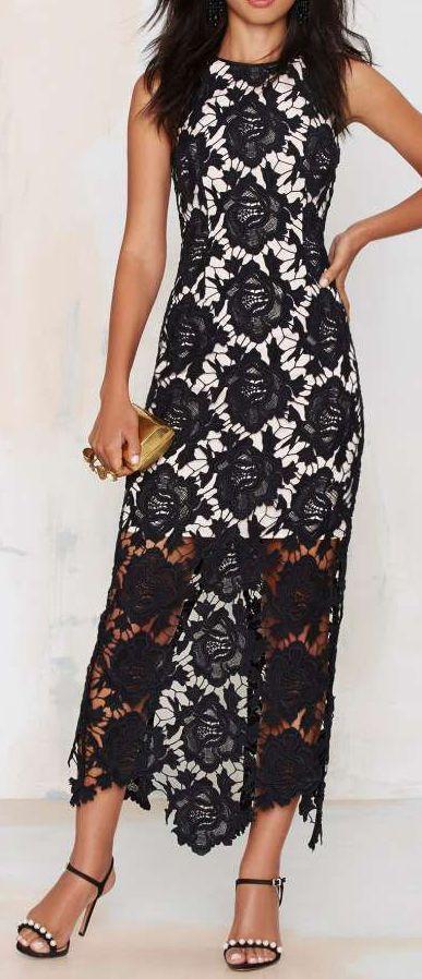 Keepsake True Love Lace Maxi Dress