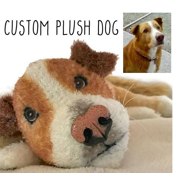 Custom Pet Custom Plush Stuffed Animal Dog Lover Gift Pet Loss Gifts Pet Portrait Pet Memorial Dog Portr Pet Memorial Gifts Pet Memorials Pet Loss Gifts