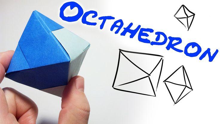Origami Oktaeder Octahedron (4 units)