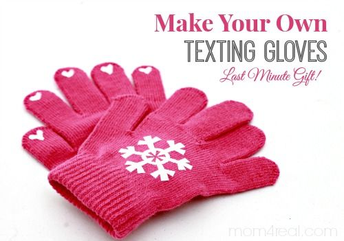 Cold fingers are no fun, but texting gloves can be a little pricey. Create a pair of DIY texting gloves for dollars with this easy-to-follow tutorial.