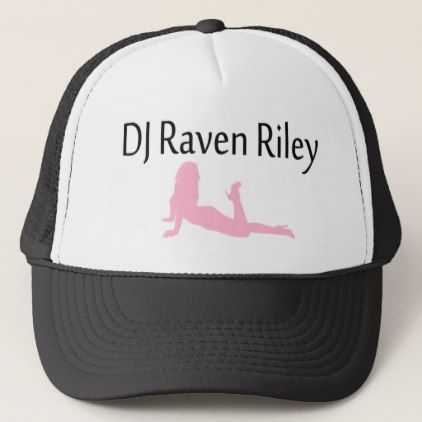 DJ Raven Riley Trucker Hat - accessories accessory gift idea stylish unique custom