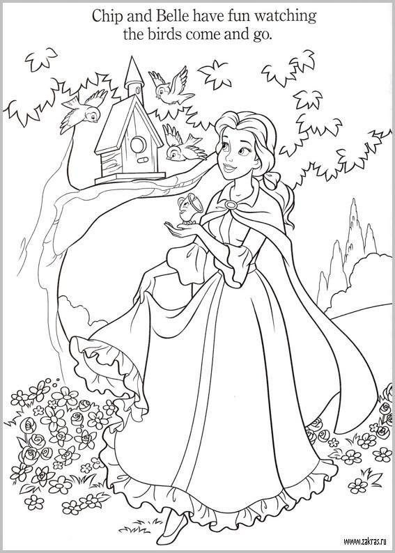 601 Best Coloring Disney Images On Pinterest