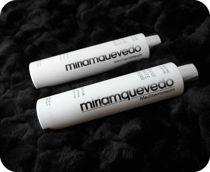 Miriam Quevedo Glacial White Caviar Shampoo and Hydra-Pure Rescue Mask Conditioner Review