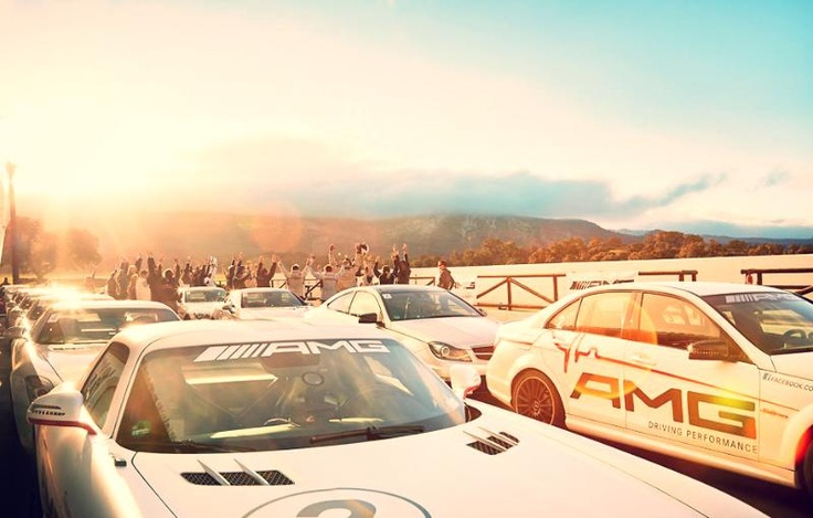 A happy new Peak Performance year 2013 from the AMG Driving Academy team.