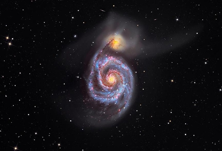 whirlpool galaxy hubble nasa center picture - photo #13