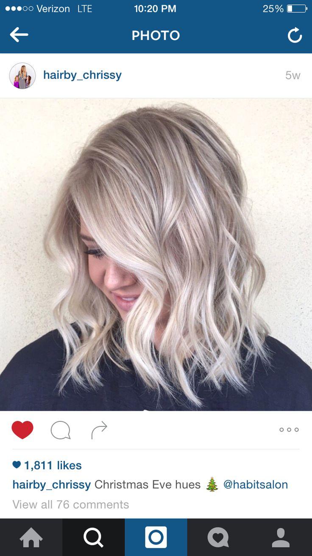 Ashy blonde :)