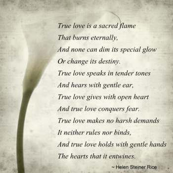 True Love Poem - Love Poetry, Love Poems, True Love, Romantic Poetry
