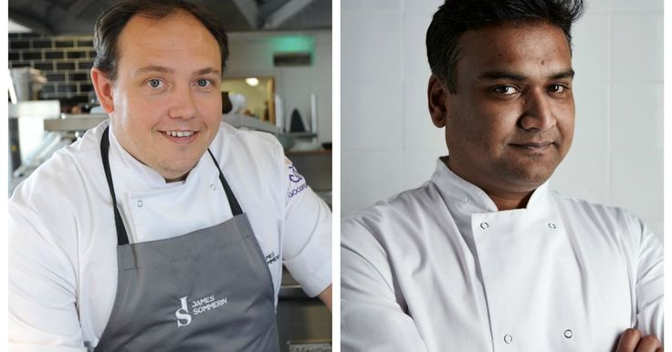 James Sommerin and Stephen Gomes will take shifts in the Huggard Centre's kitchen