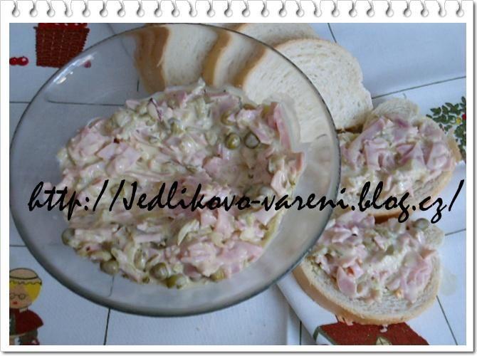 Jedlíkovo vaření: Chlebíčkový pochoutkový salát