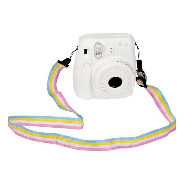 Wish | 36 Inches Camera Strap Shoulder Strap for Fujifilm Instax Mini 25/ 50/ 7/ 8/ 90 Instant Film