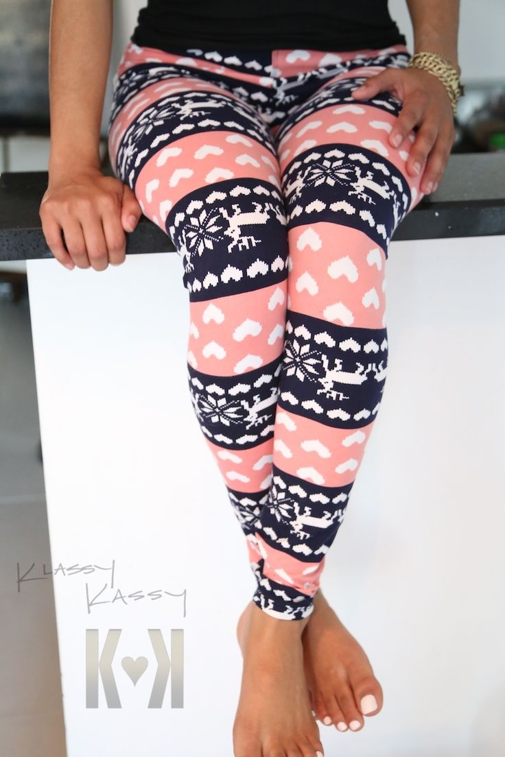 Love the hearts on these! Leggings to keep you warm and cozy as the weather becomes frosty.