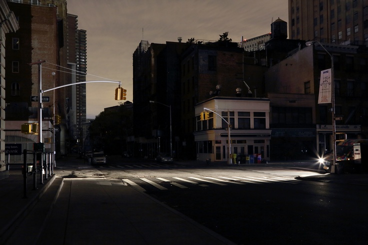 Christophe Jacrot - New York in the dark