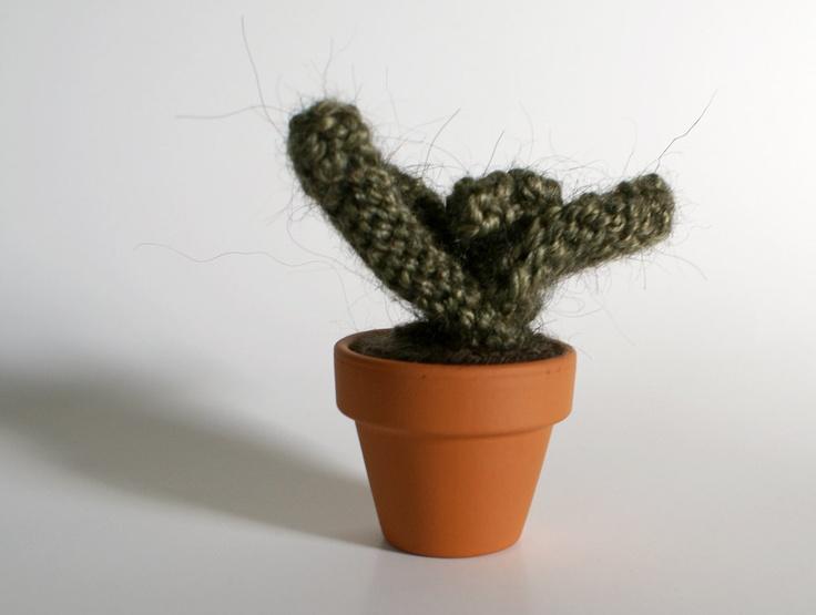 Knitted Plant Seedling. $22.00, via Etsy.