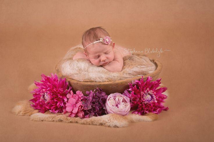 Tieback pink blossom