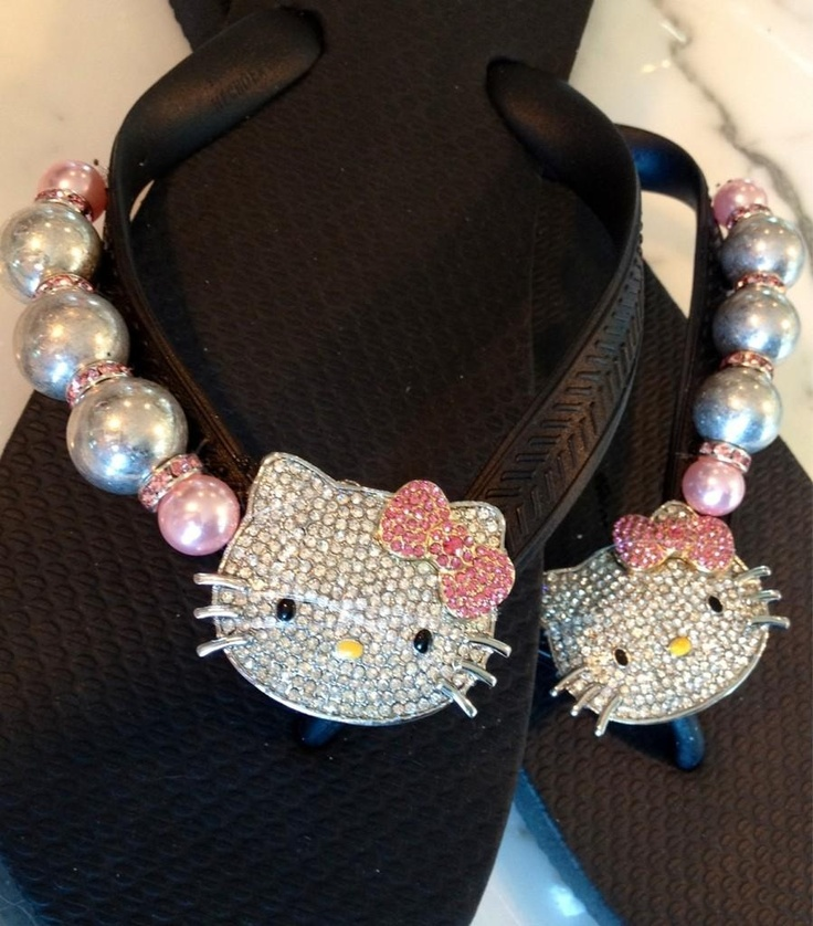 Hello Kitty, purrrrrrrfect for summer Flipinista® For information and how to order log on to www.flipinista.com