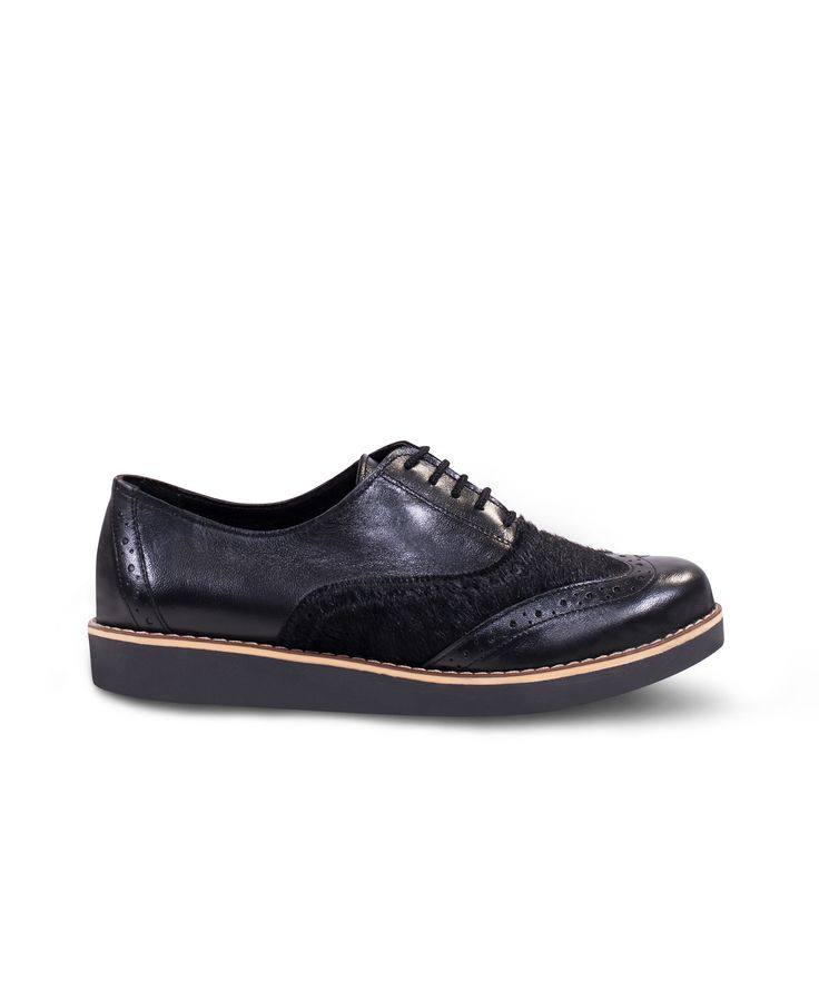 Meraki Flat Oxfords for the classics with special hint! Black