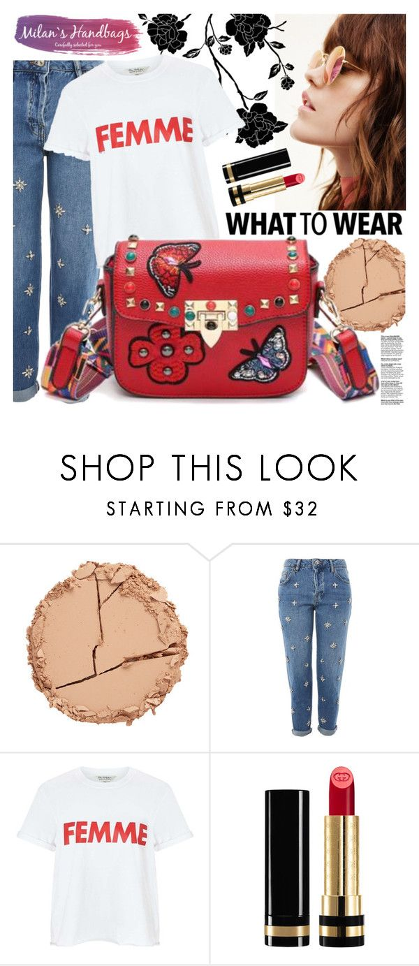 """""""Milan's Handbags (Discount code:10%dcg )"""" by gaby-mil ❤ liked on Polyvore featuring Estelle & Thild, Topshop, Miss Selfridge, Gucci, bag, shop and fioralba"""