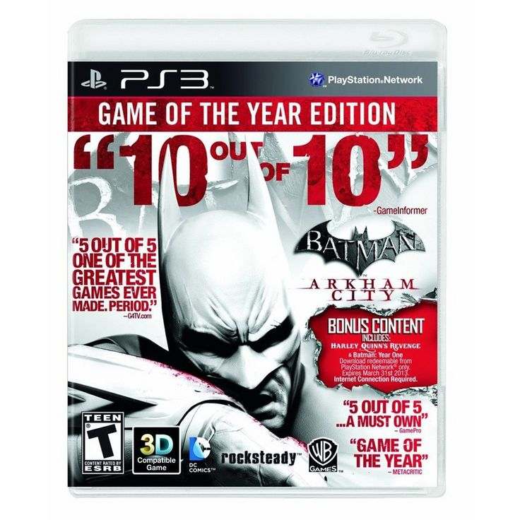 Batman: Arkham City - Game of the Year (PlayStation 3)