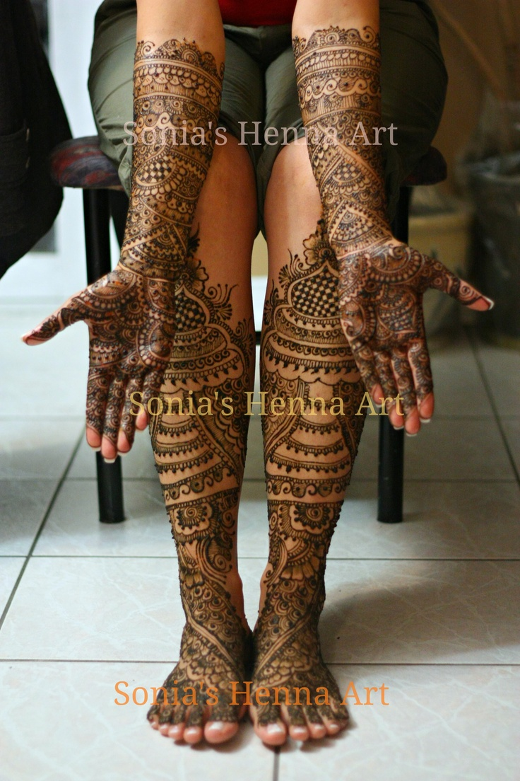 Full Indian Intricate Bridal Mehndi Bridal Henna Mehndi Designs Pinterest Bridal Mehndi
