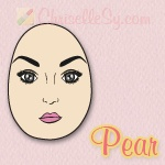 Pear Shaped Face - How to Determine Face Shape